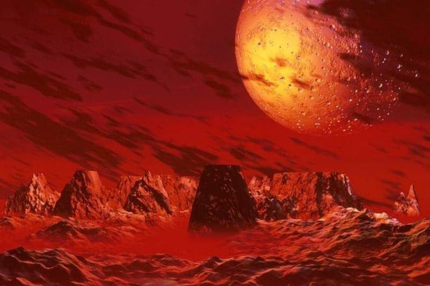 curiosidades del planeta marte