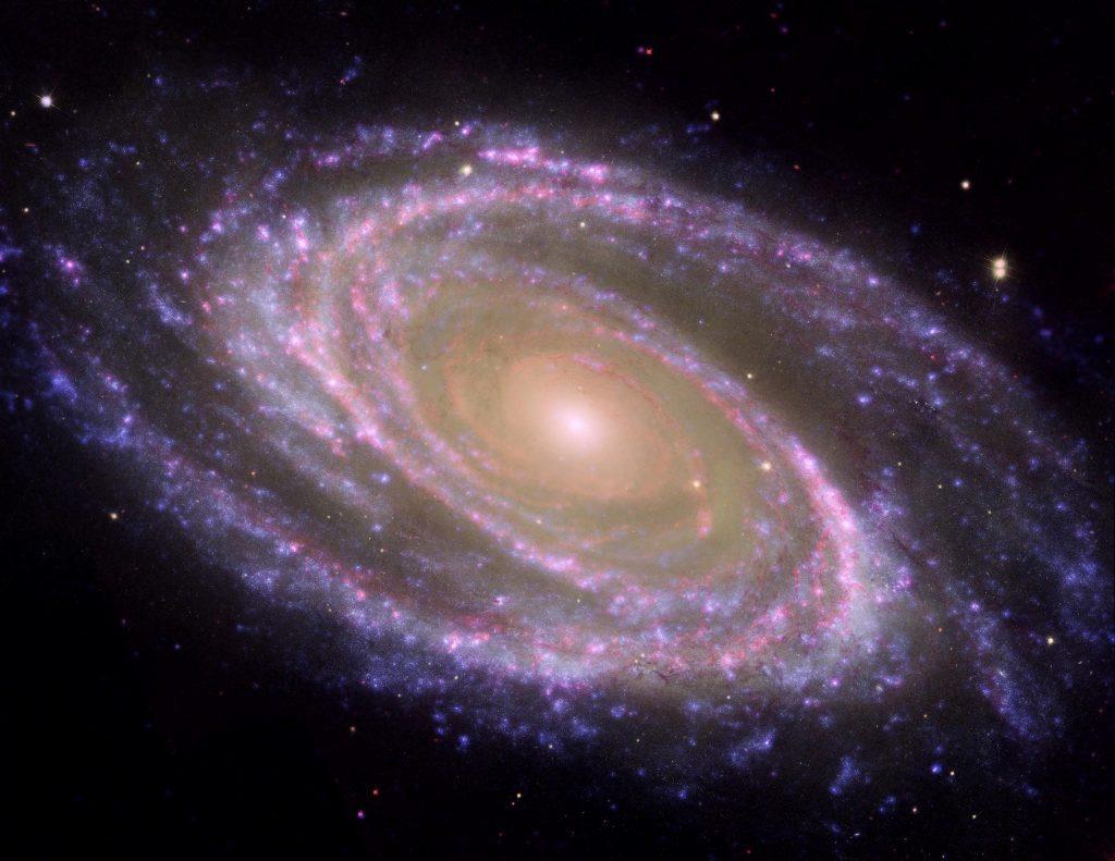 galaxias espirales: Características