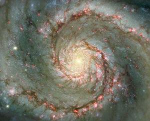Galaxia espiral remolino