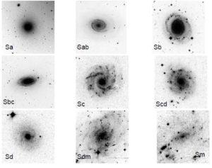 Galaxias espirales ejemplos