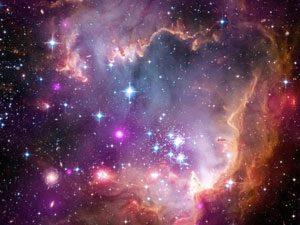 galaxia irregular nube pequeña mgallnes