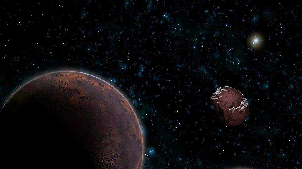 Galaxia planeta