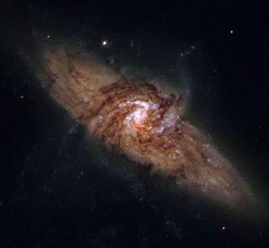 Galaxias espirales NGC3314