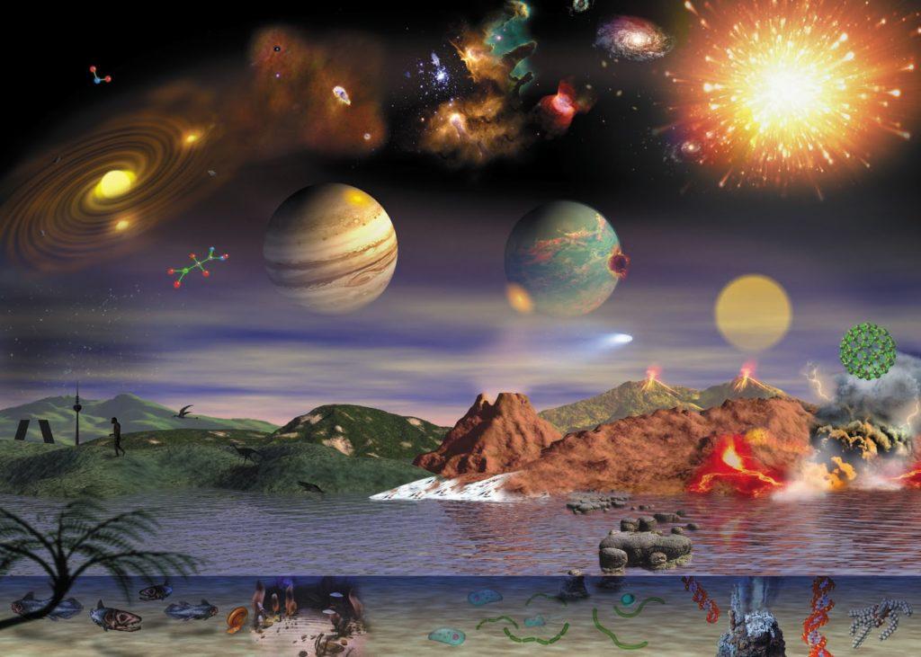 demostración de astrobiología en planetario medellín