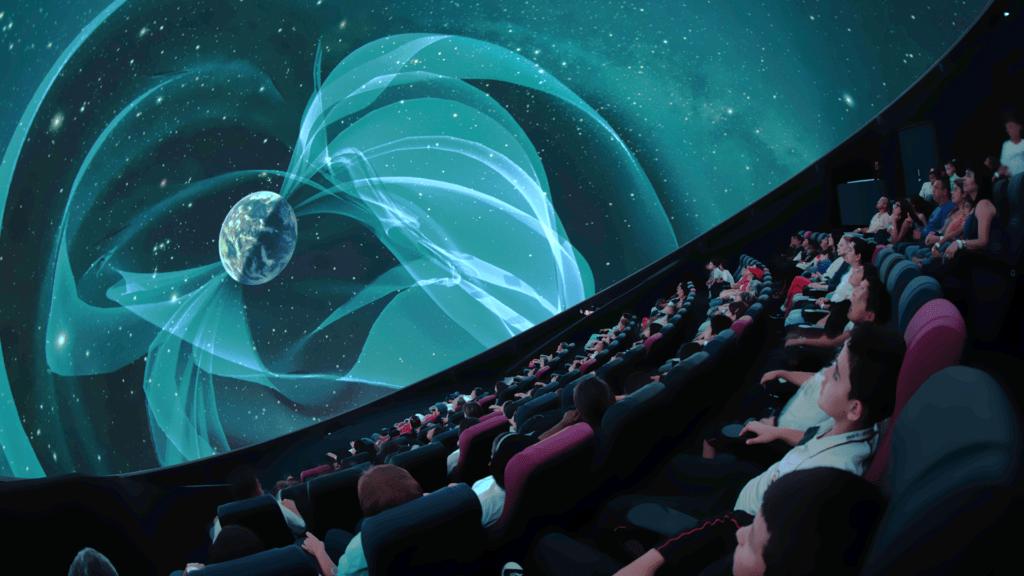 Planetario de Medellín en su interor