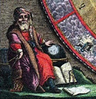 Aristarco, conocido como uno de los primeros astrónomos