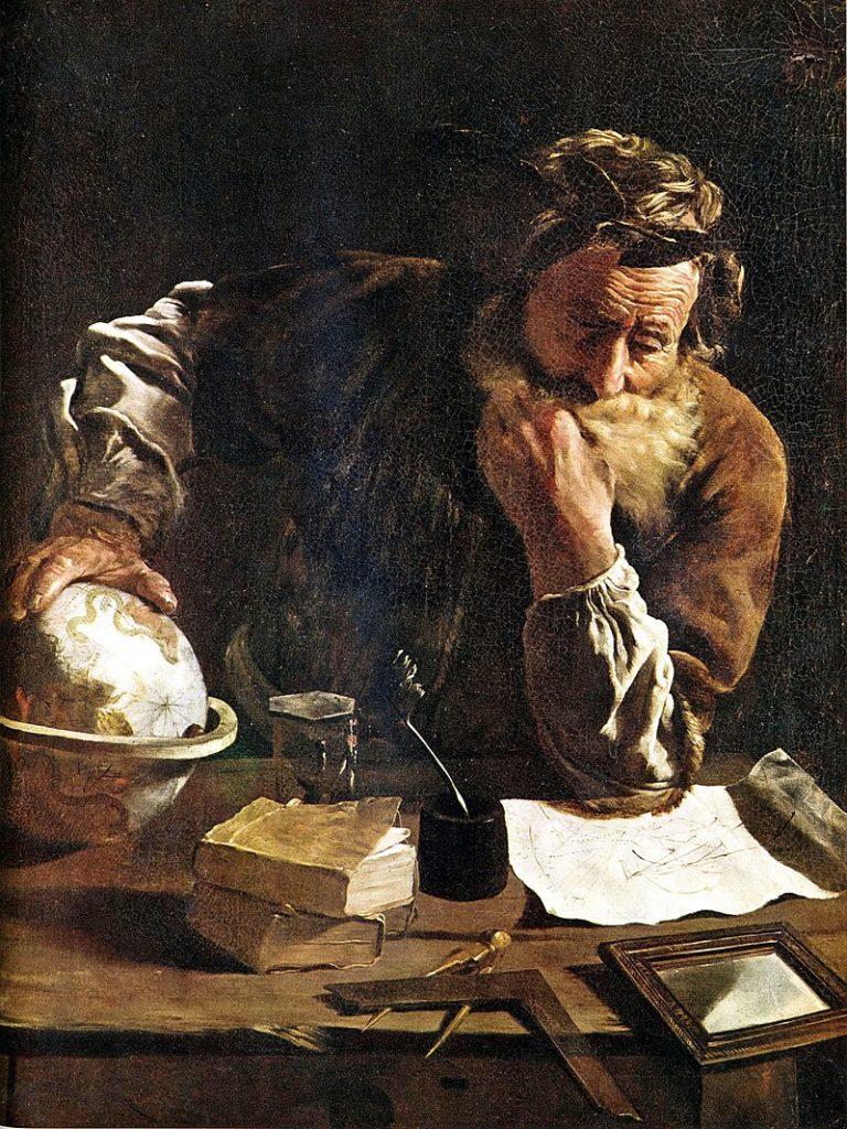 arquímedes autor de los planetarios