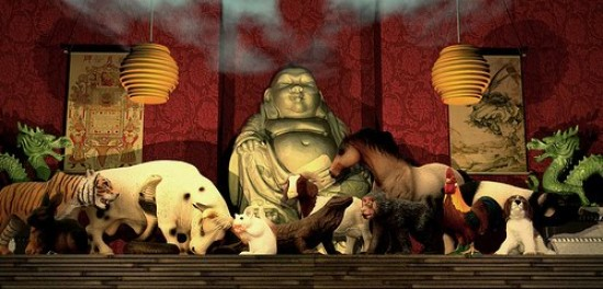 buda y los animales de la astrologia china