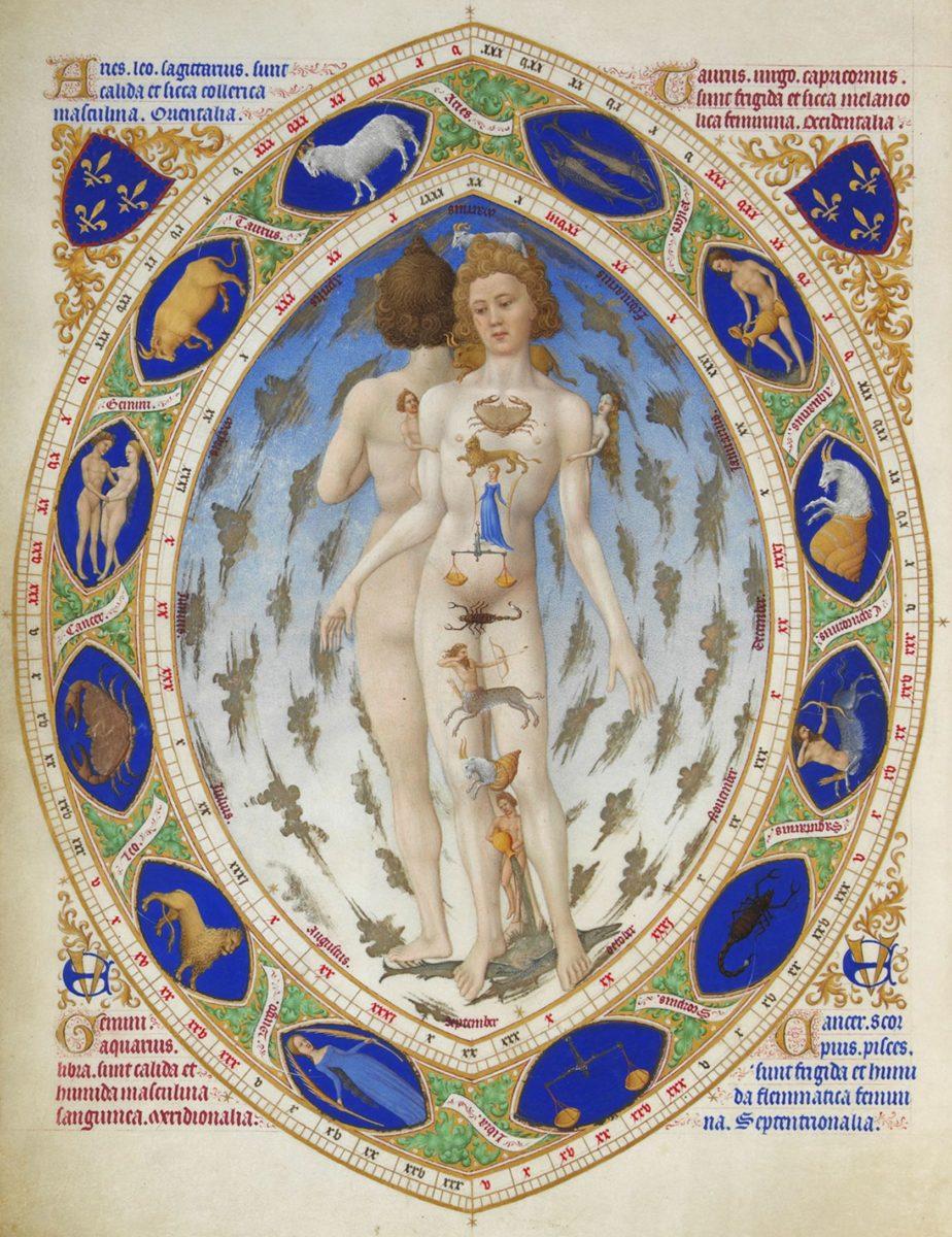 astrologia medica cuerpo humano