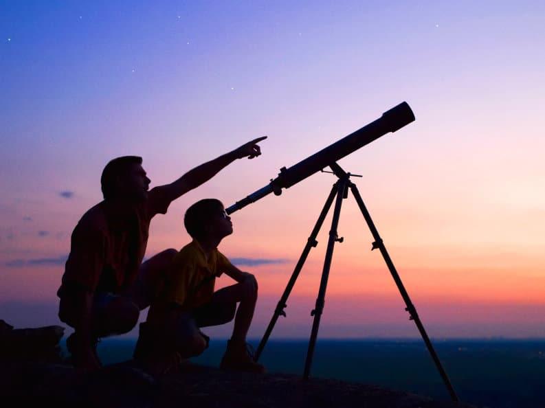 astronomía y telescopios