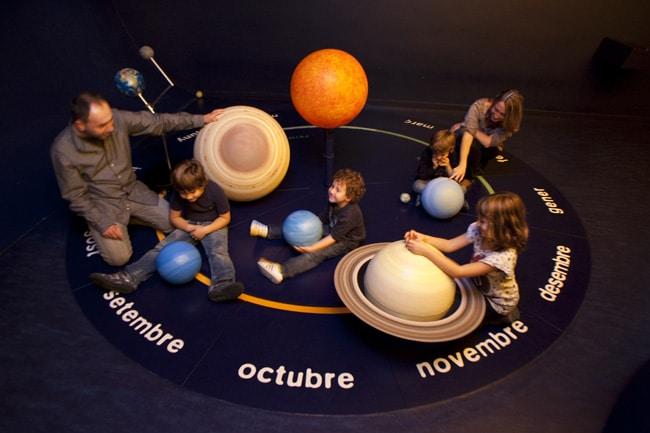 Planetario burbuja