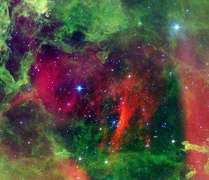 cúmulo abierto en la nebulosa roseta