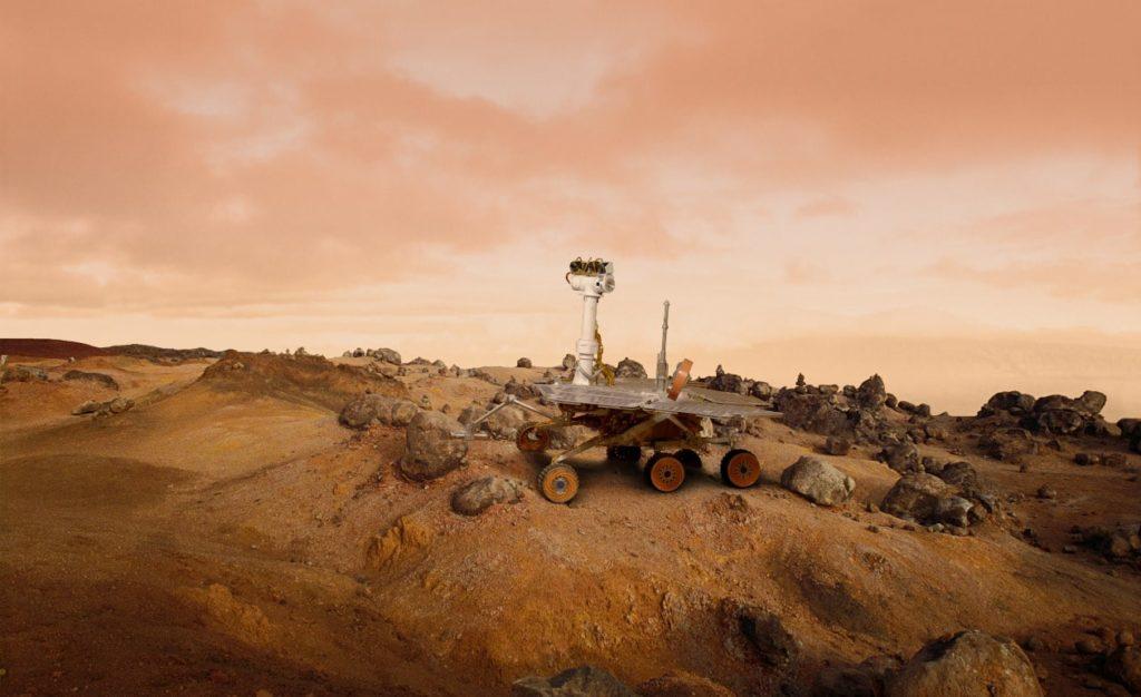 posible detección de agua en el Planeta Rojo