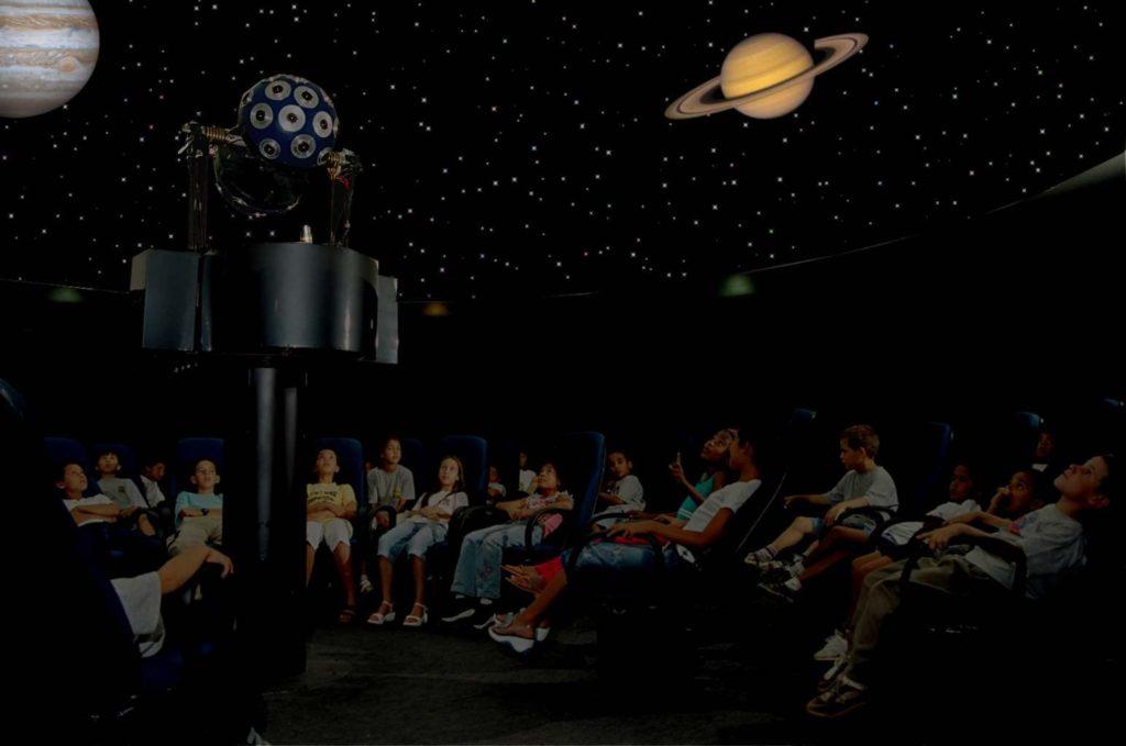 Planetarios en su interior