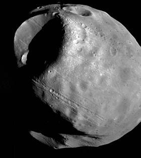 Fobos satélite de Marte