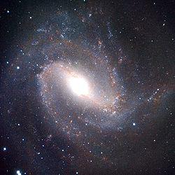 ejemplo de galaxia espiral 83