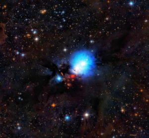 ejemplo de nebulosa de reflexión