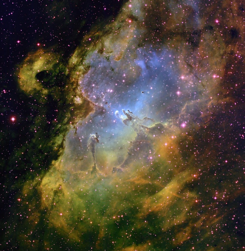 nebulosa aguila