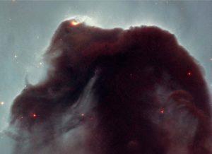 tipo de nebulosa oscura