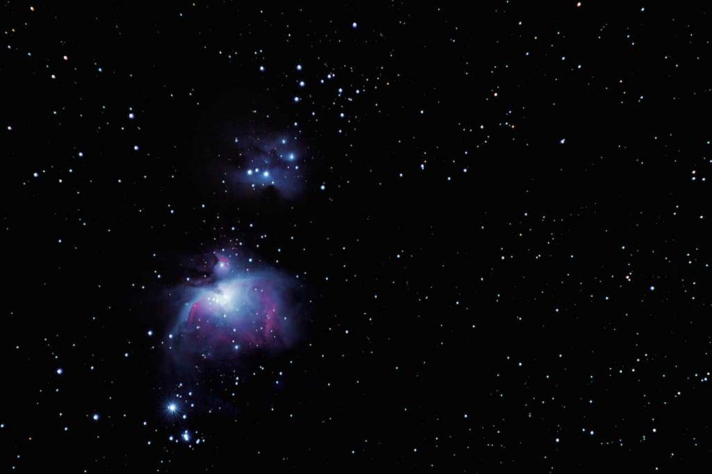 nebulosa de orion o m42