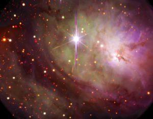 nebulosa laguna-reloj