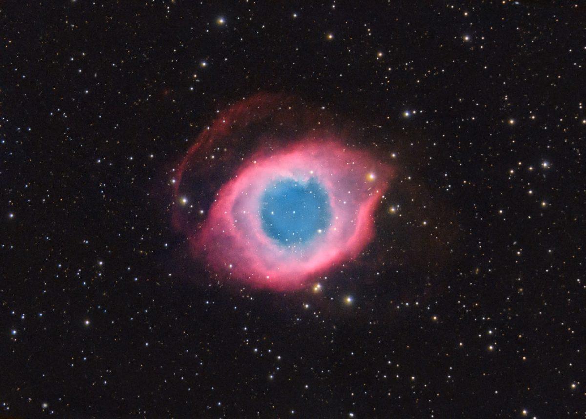 nebulosa ojo de dios mas pequeña