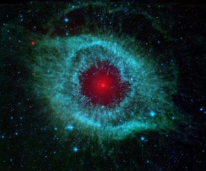 nebulosa ojo Dios con tpnos azules