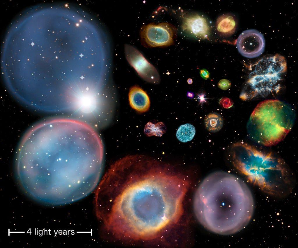 """Resultado de imagen de Enana blanca dentro de la Nabulosa planetaria"""""""
