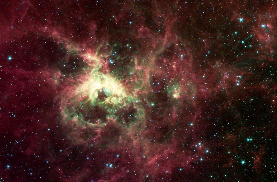 nebulosa tarantula