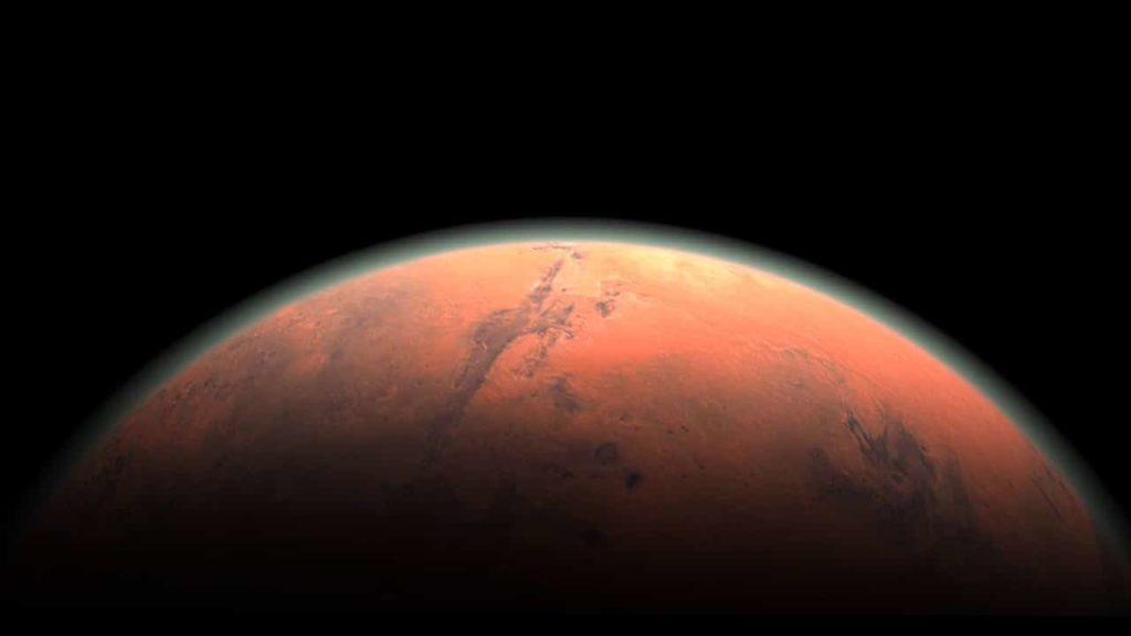 Planeta Marte o Planeta Rojo