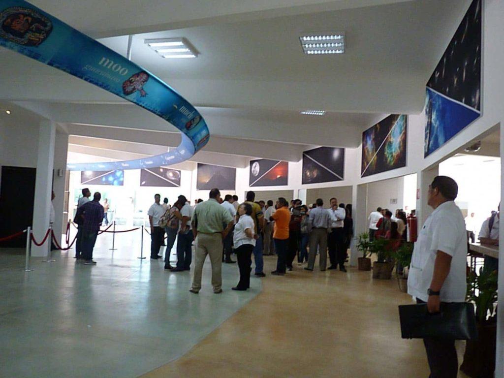 Planetario cancun tecnológico