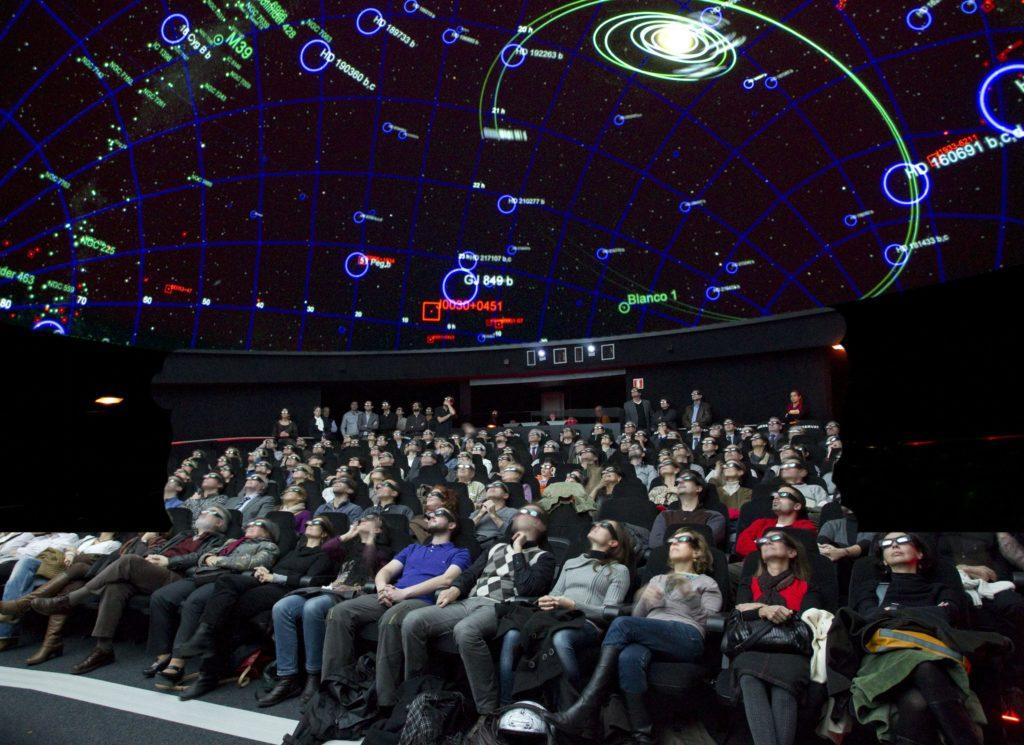 Cosmocaixa Barcelona Planetario