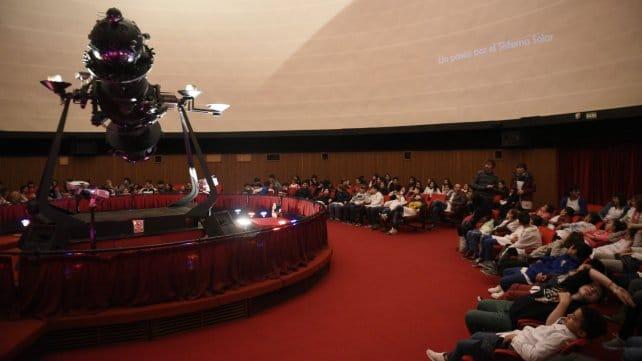 Planetario Rosario en su interior