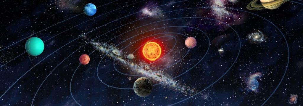 planetas alrededor del sol