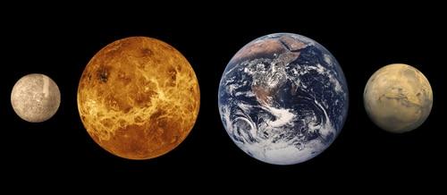 planetas cerca de la tierra