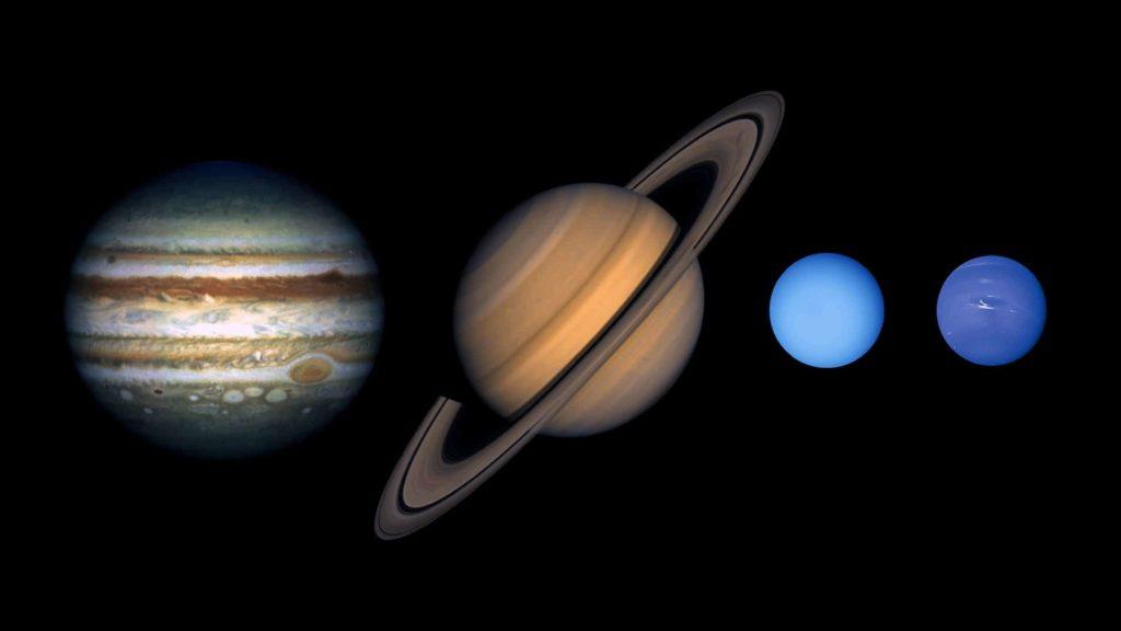 planetas exteriores