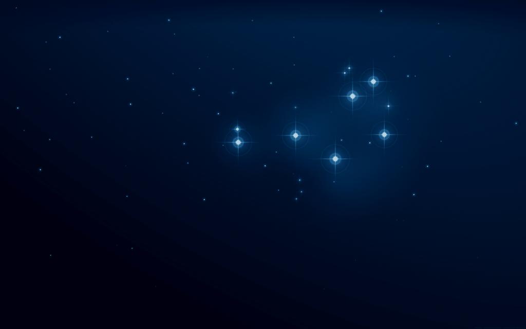 pléyades en su alrededor existen nebulosas de reflexión