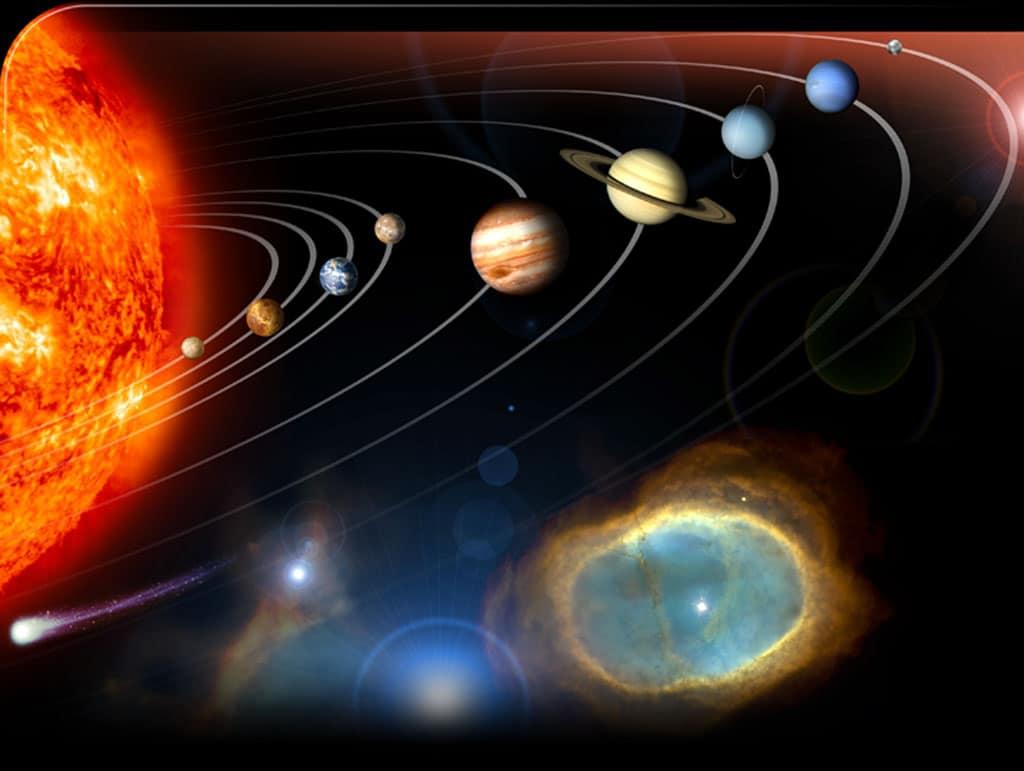 Sistema Solar en los Planetarios