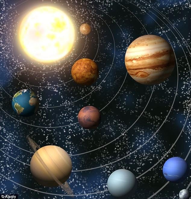 planetas mas cercanos al sol