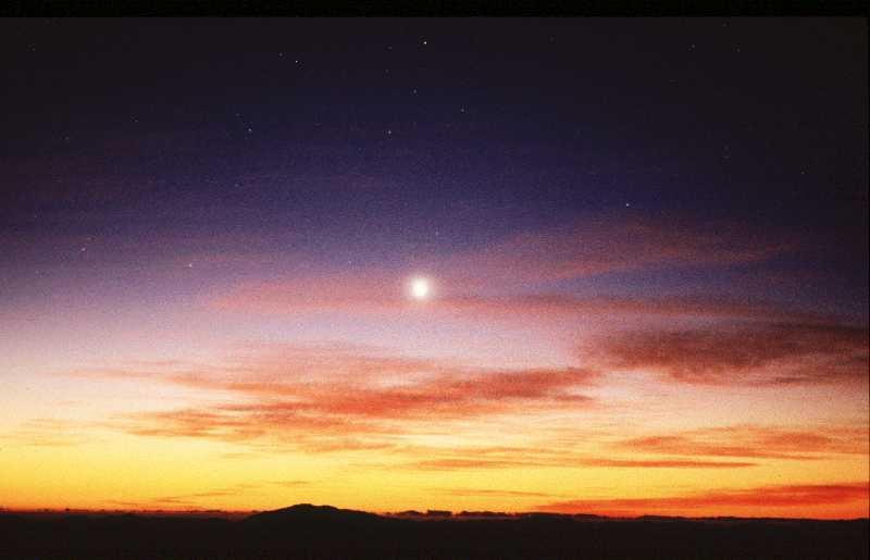 planetas que se ven desde la tierra