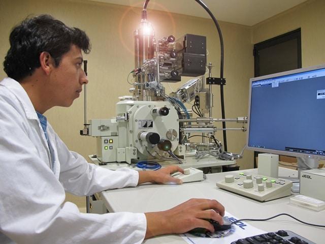 Partes del Microscopio electrónico