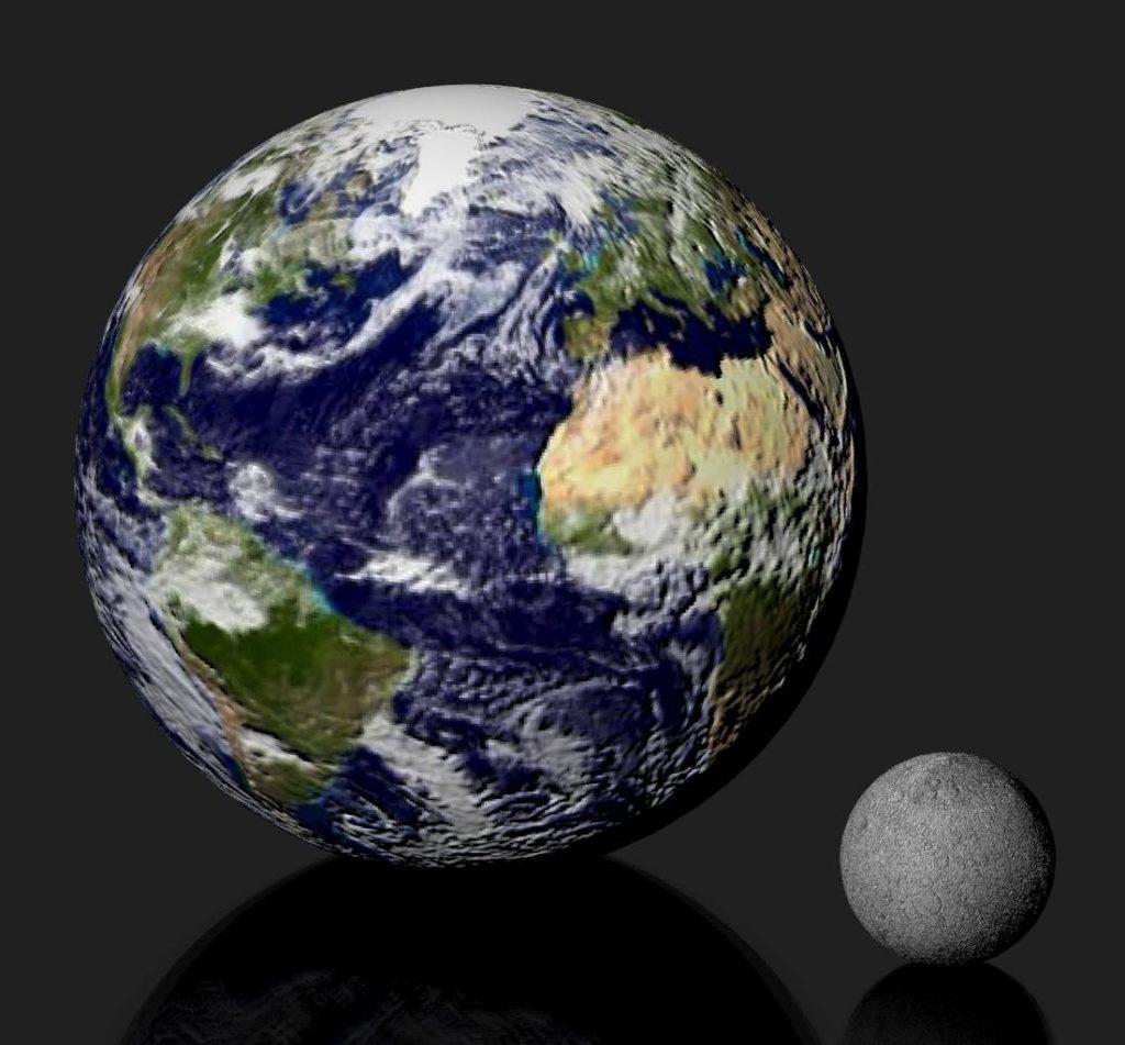 Por qué la luna es un satélite