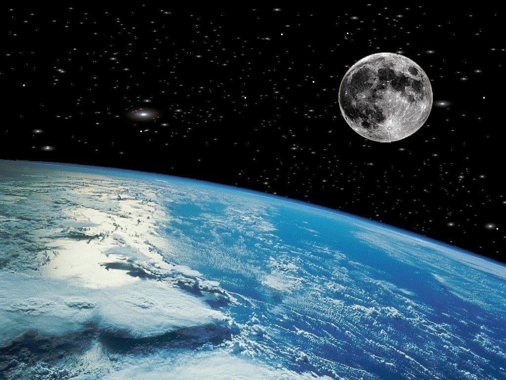 Por qué la luna no cae sobre la tierra