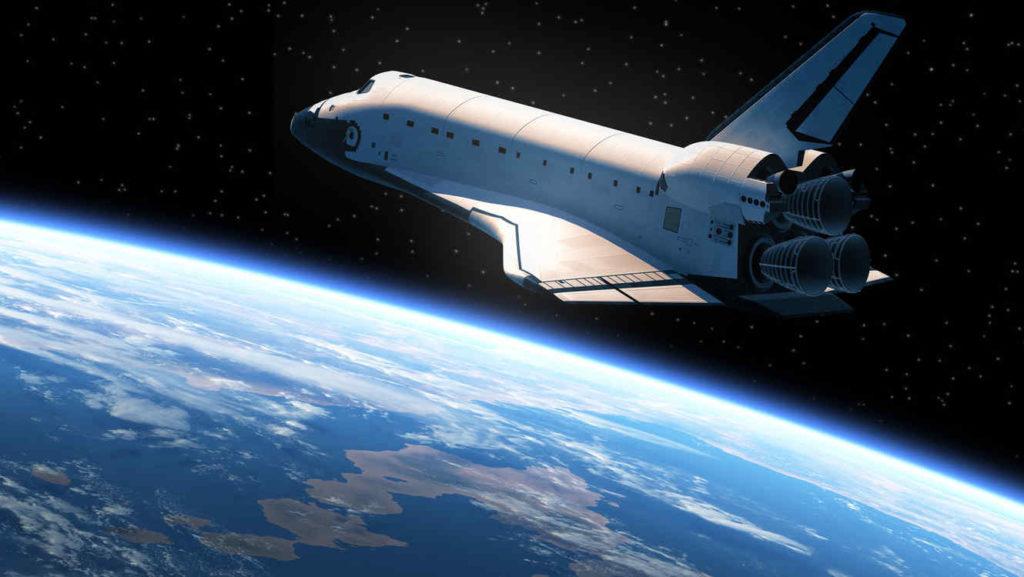 Astronauta nave espacial