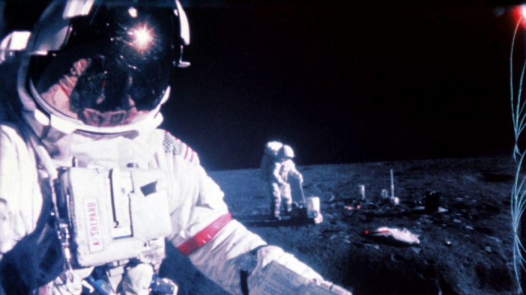 Astronauta y los riesgos