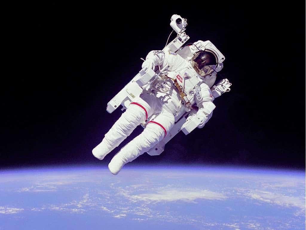 Astronautas y los riesgos