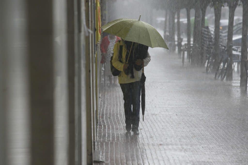 chaparron de lluvia en vitoria vitoria 30-09-09 igor aizpuru