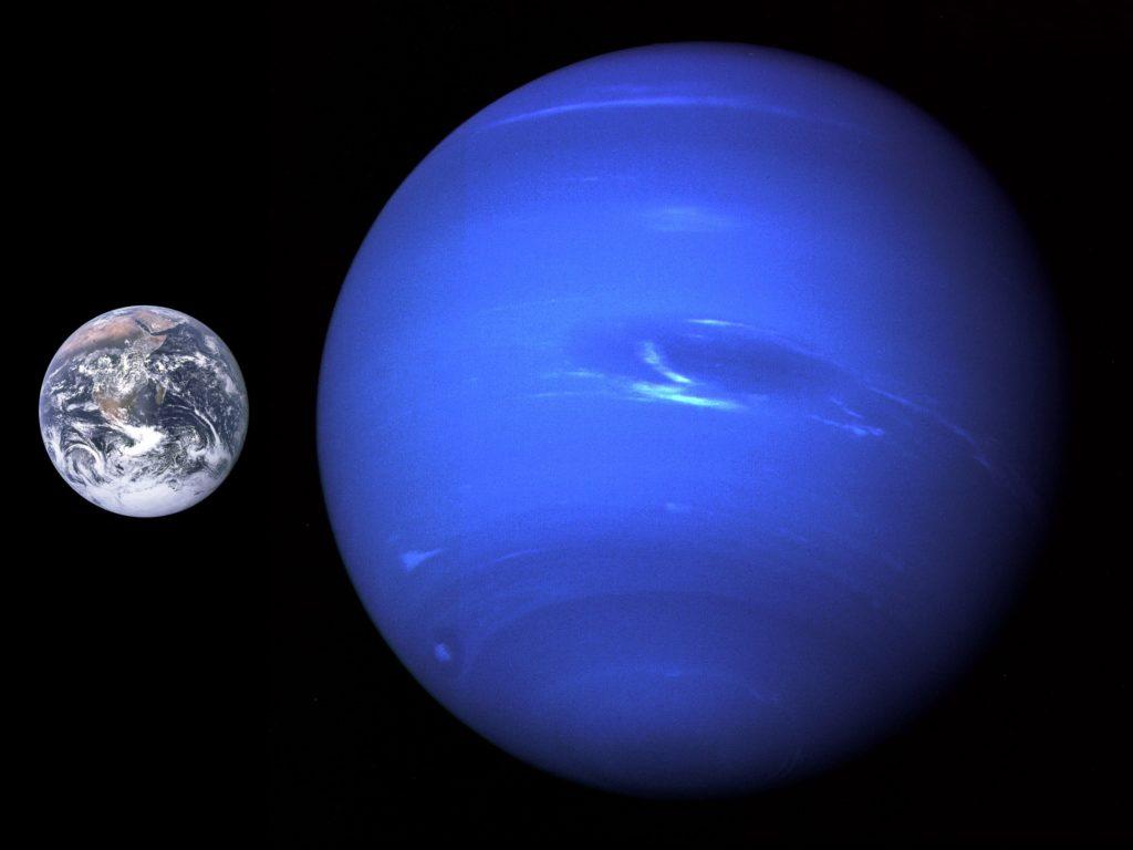 atmosfero de neptuno