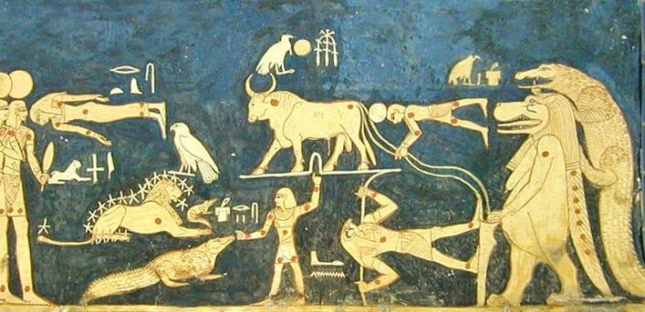 Astronomía egipcia calendario