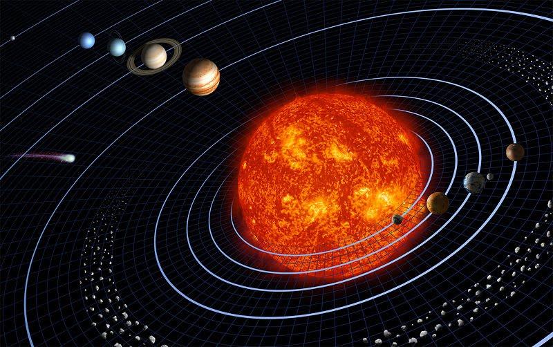 como se formo el sistema solar